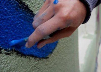 paint stroke